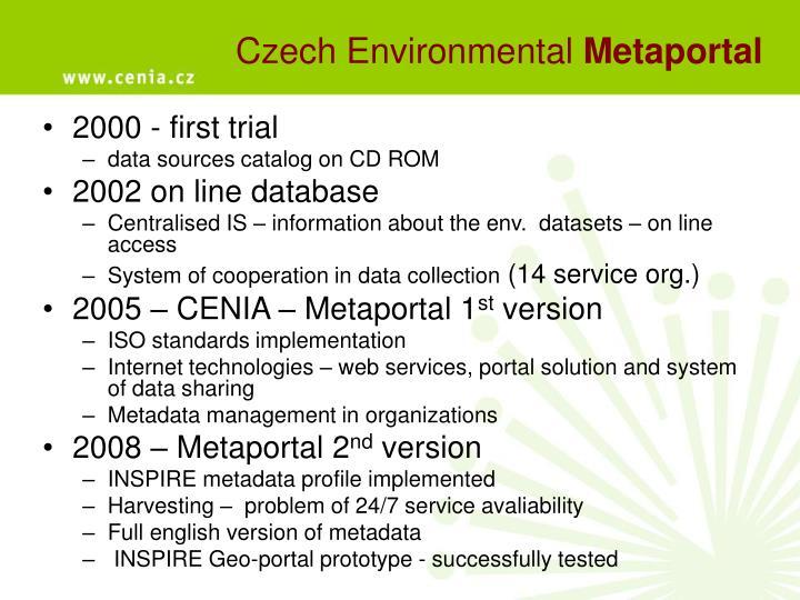 Czech Environmental