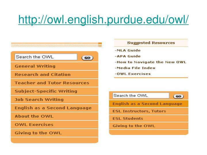 http://owl.english.purdue.edu/owl/