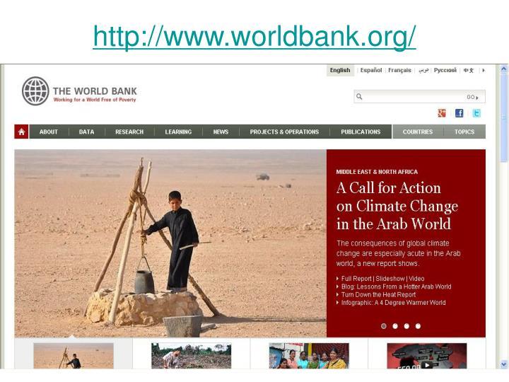 http://www.worldbank.org/