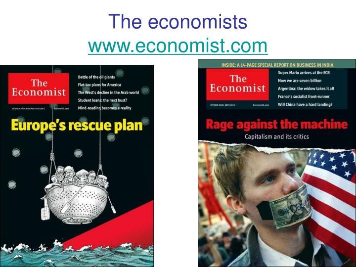 The economists