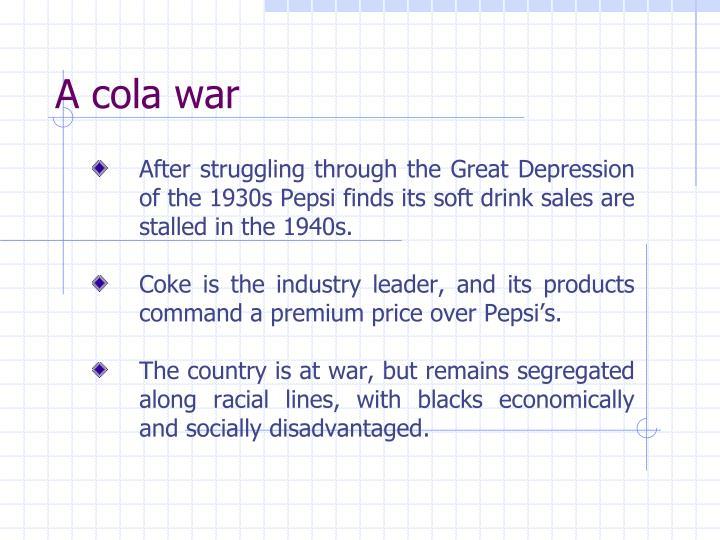 A cola war