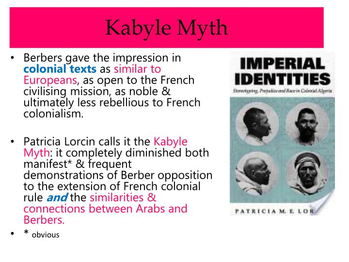 Kabyle Myth