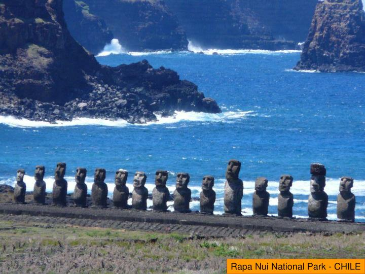 Rapa Nui National Park - CHILE