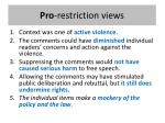 pro restriction views
