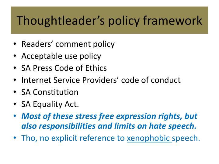 Thoughtleader's