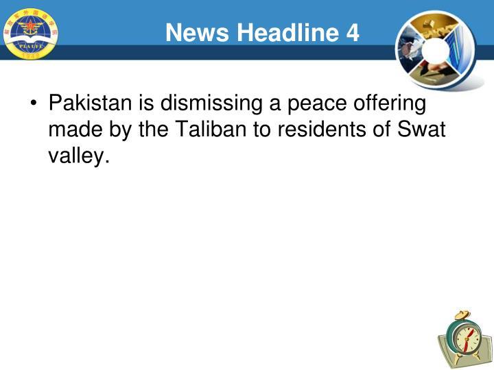 News Headline 4