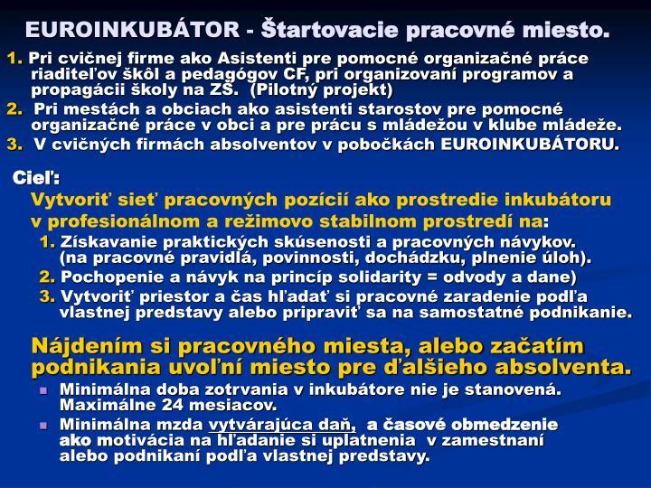 EUROINKUBÁTOR -