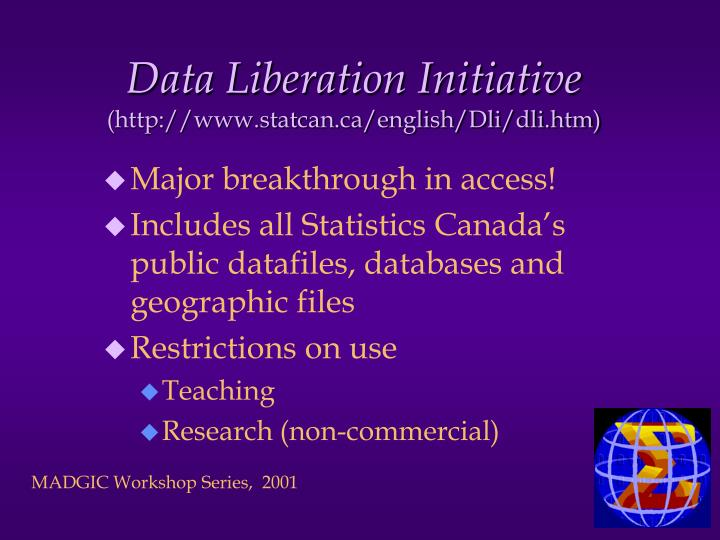 Data Liberation Initiative