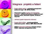 integrace projekt a e en