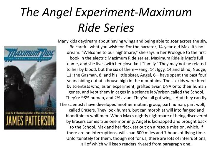 The Angel Experiment-Maximum Ride Series