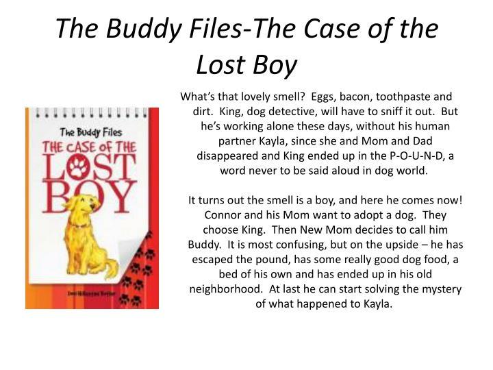 The Buddy Files-The Case of the Lost Boy