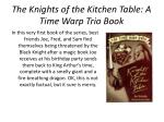 the knights of the kitchen table a time warp trio book