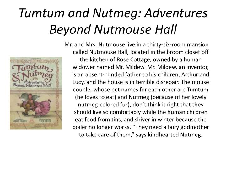Tumtum and Nutmeg: Adventures Beyond Nutmouse Hall