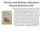 tumtum and nutmeg adventures beyond nutmouse hall