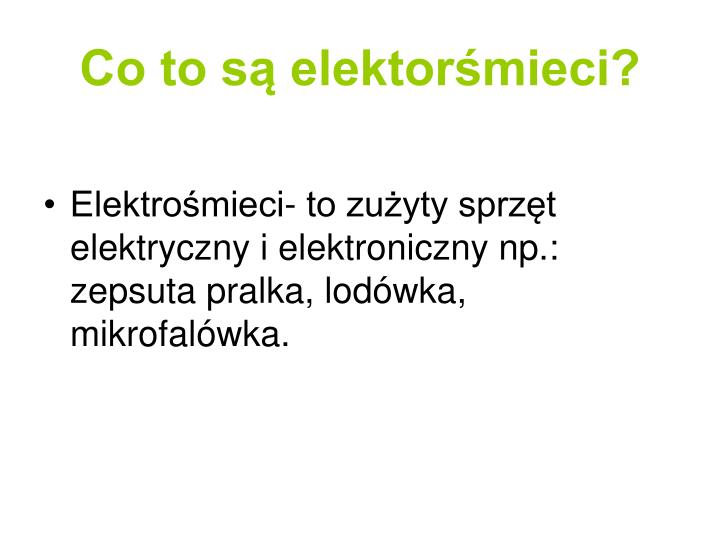 Co to s elektor mieci