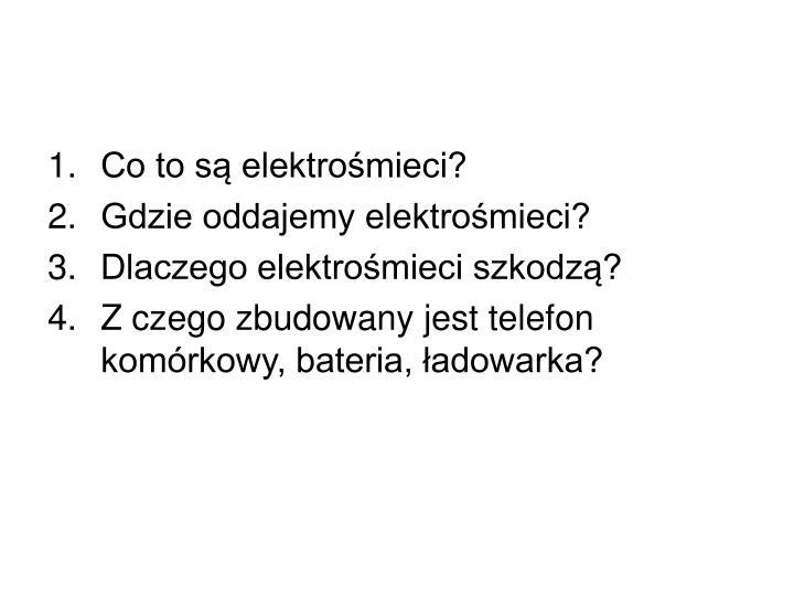 Co to są elektrośmieci?