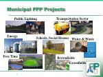 municipal ppp projects