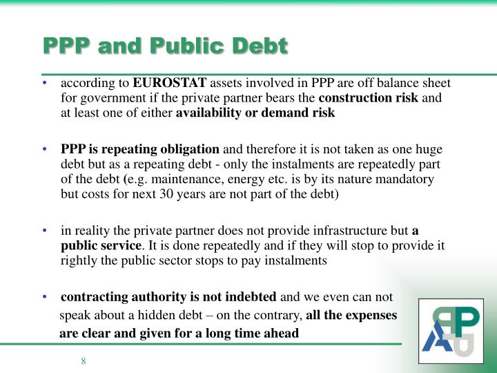 PPP and Public Debt