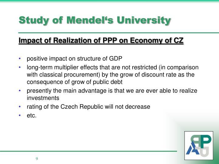Study of Mendel
