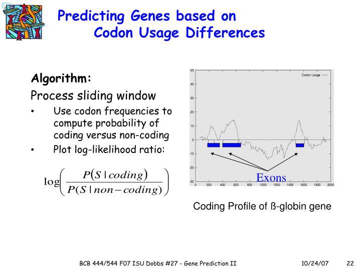 Predicting Genes based on