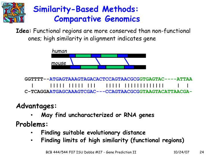 Similarity-Based Methods: