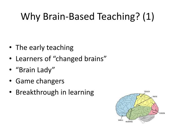 Why Brain-Based Teaching? (1)