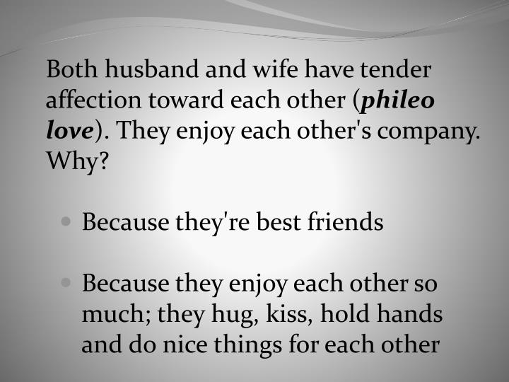 Both husband and wife have