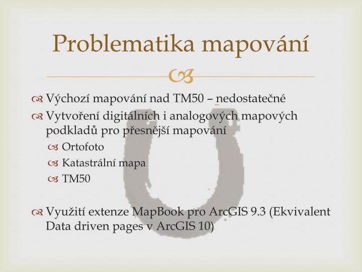 Problematika mapování