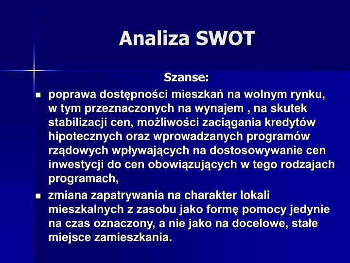 Szanse: