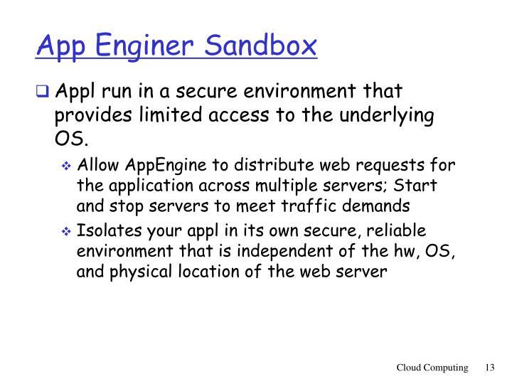 App Enginer Sandbox