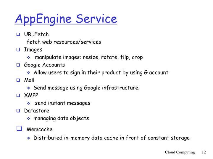 AppEngine Service