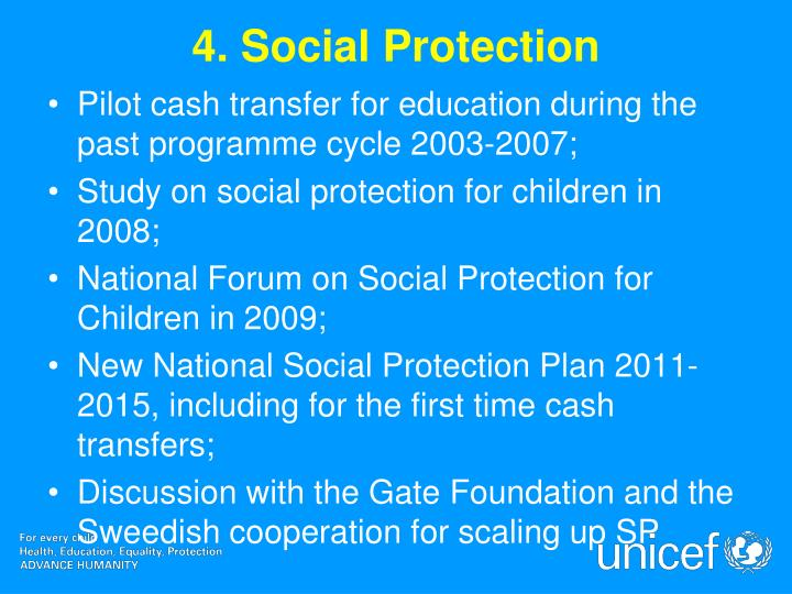 4. Social Protection