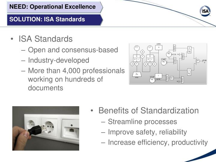NEED: Operational Excellence