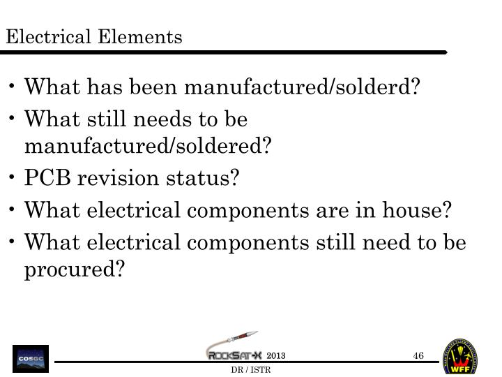 Electrical Elements