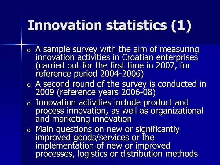 Innovation statistics
