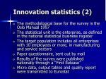 innovation statistics 2