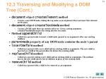 12 3 traversing and modifying a dom tree cont