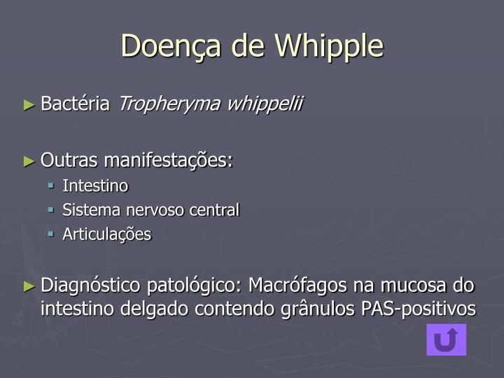 Doença de Whipple
