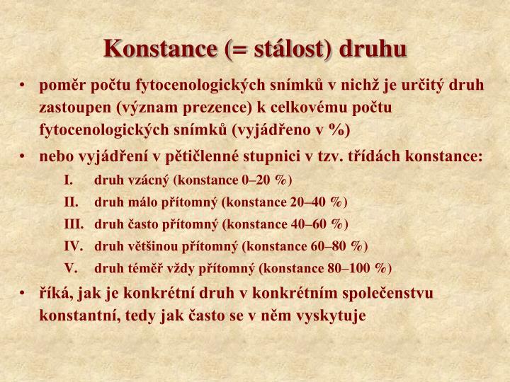 Konstance (=