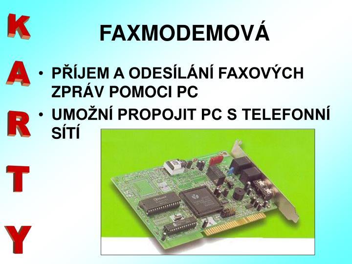 FAXMODEMOVÁ