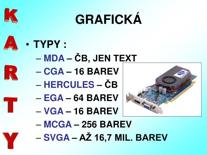 GRAFICKÁ