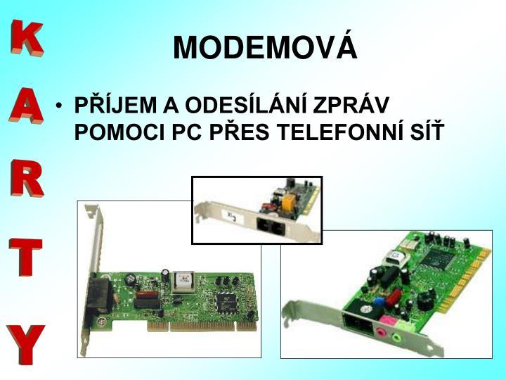 MODEMOVÁ