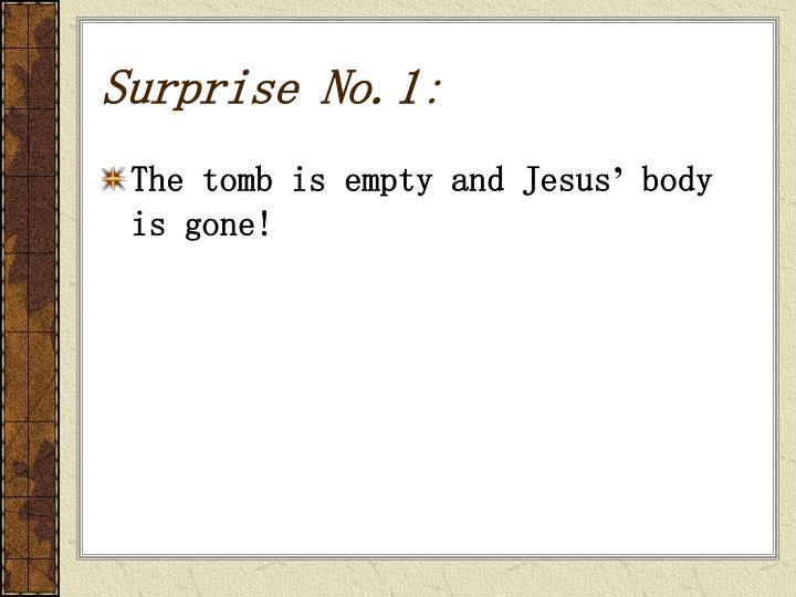 Surprise No.1