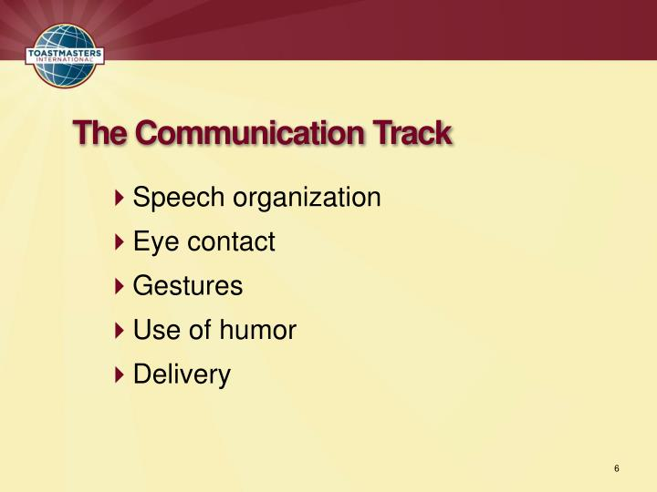 Speech organization