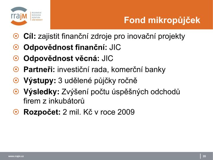 Fond mikropůjček