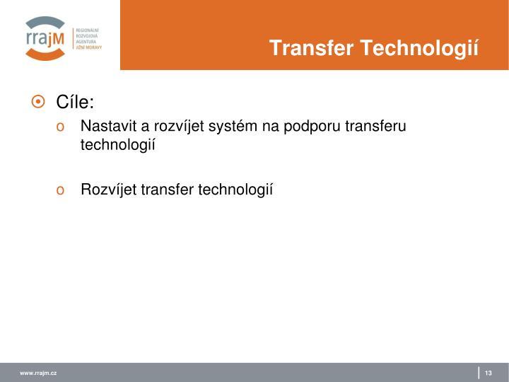 Transfer Technologií