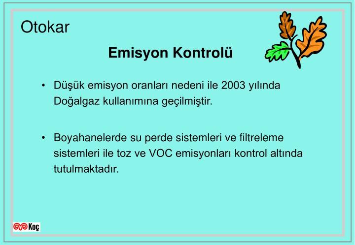 Emisyon Kontrolü