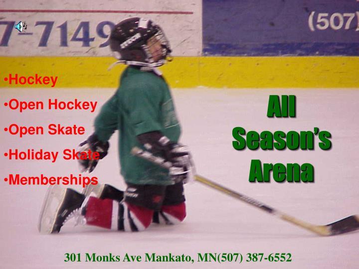 All Season's Arena