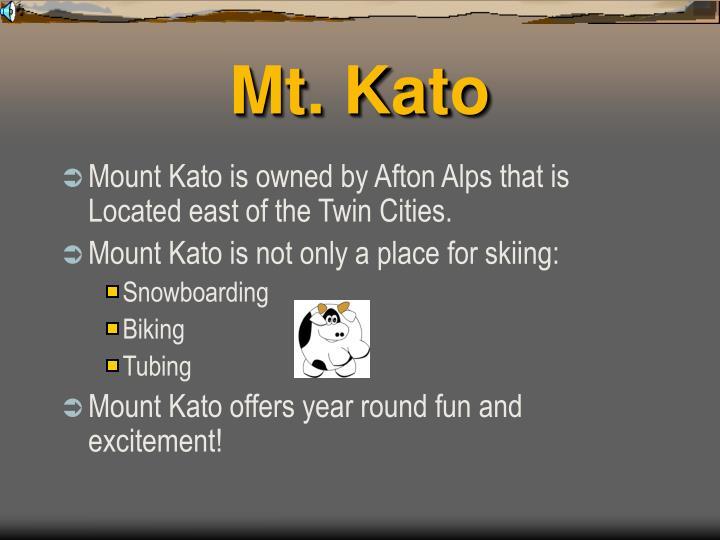 Mt. Kato