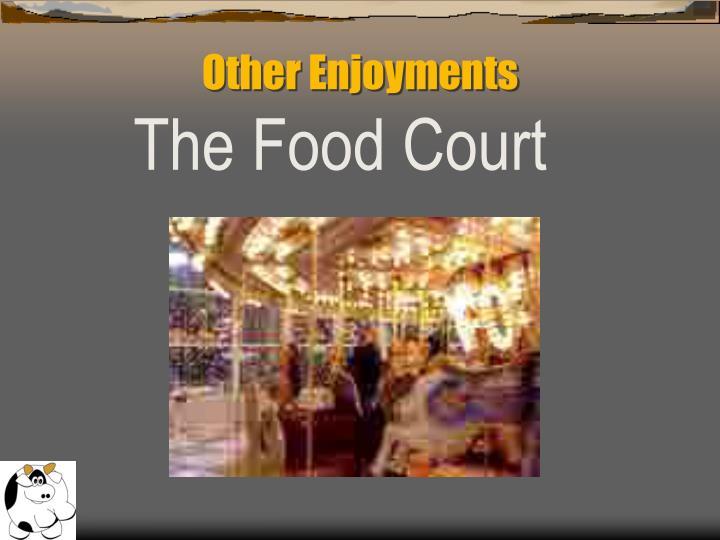 Other Enjoyments
